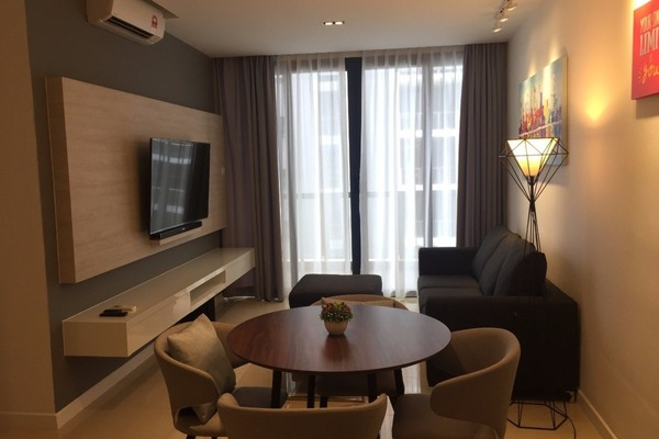 For Rent Condominium at Jesselton Residences, Kota Kinabalu Freehold Fully Furnished 2R/2B 4k