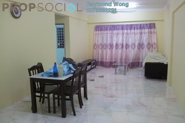 For Rent Apartment at Vista Prima, Puchong Freehold Semi Furnished 3R/2B 1.2k
