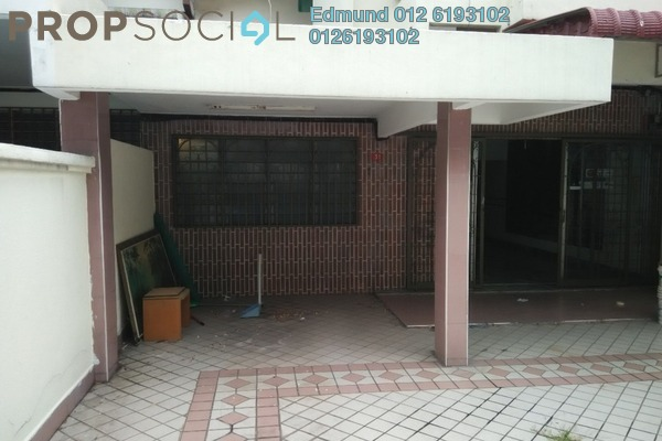For Sale Terrace at SS4, Kelana Jaya Freehold Unfurnished 4R/2B 1.1m