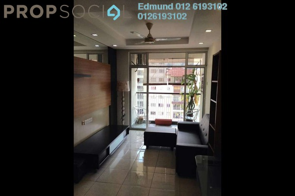 For Rent Condominium at Perdana View, Damansara Perdana Freehold Fully Furnished 3R/2B 1.8k