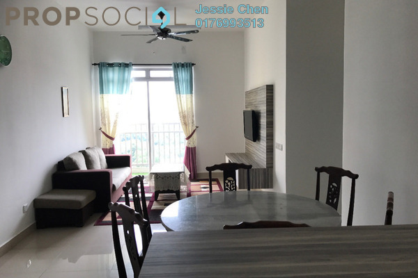 For Rent Serviced Residence at Kalista Residence, Seremban 2 Freehold Fully Furnished 3R/2B 2k
