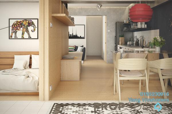 For Sale Condominium at Subang Bestari, Subang Freehold Fully Furnished 2R/2B 370k