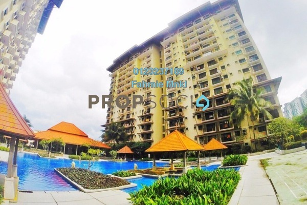 For Sale Condominium at Puri Aiyu, Shah Alam Freehold Unfurnished 3R/2B 345k