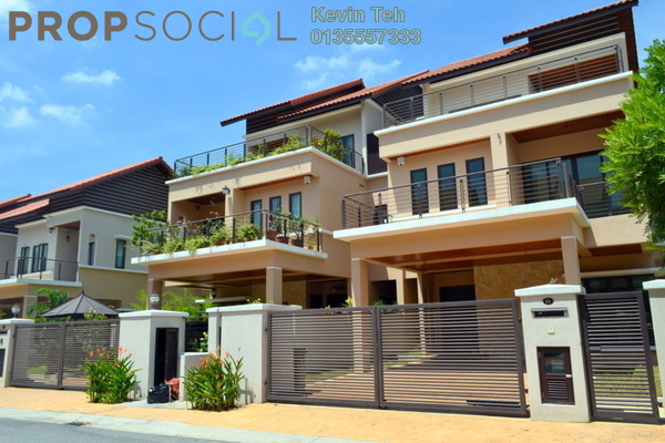 For Sale Semi-Detached at Kiara View, Mont Kiara Freehold Semi Furnished 5R/6B 2.7m