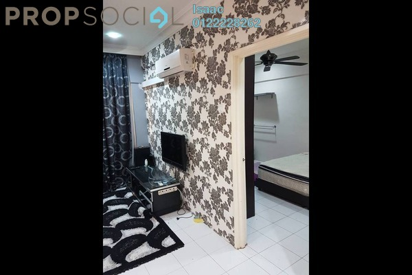 For Sale Apartment at Ixora Apartment, Kepong Freehold Fully Furnished 3R/3B 280k
