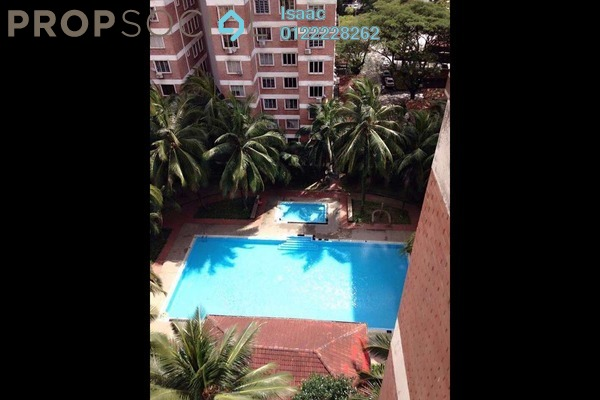 For Sale Condominium at Garden Park, Bandar Sungai Long Freehold Semi Furnished 3R/2B 260k