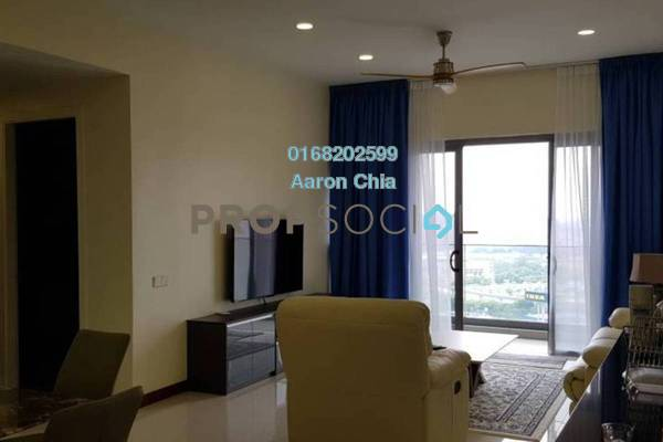 For Rent Serviced Residence at Reflection Residences, Mutiara Damansara Freehold Fully Furnished 3R/2B 3.7k