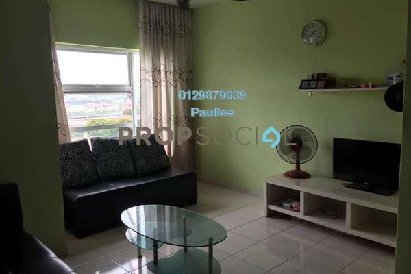 For Rent Apartment at Desa Impiana, Puchong Freehold Semi Furnished 3R/2B 1.5k