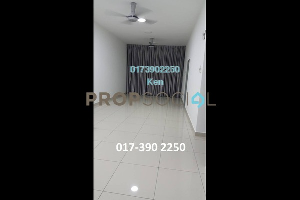For Rent Condominium at DeSkye Residence, Jalan Ipoh Freehold Semi Furnished 3R/2B 1.7k