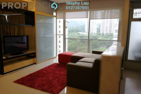For Rent Condominium at VERVE Suites, Mont Kiara Freehold Fully Furnished 1R/1B 2.9k