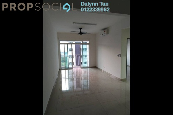 For Rent Condominium at V Residence 2 @ Sunway Velocity, Cheras Freehold Semi Furnished 2R/2B 1.3k