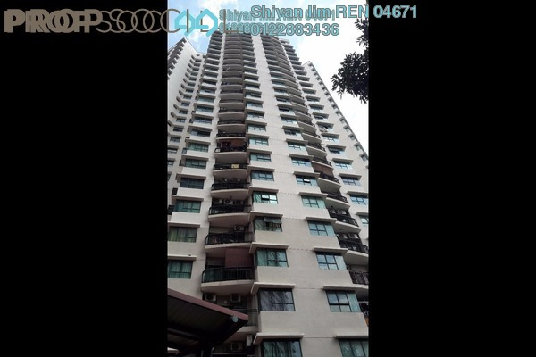 For Rent Condominium at Changkat View, Dutamas Freehold Semi Furnished 3R/2B 1.8k
