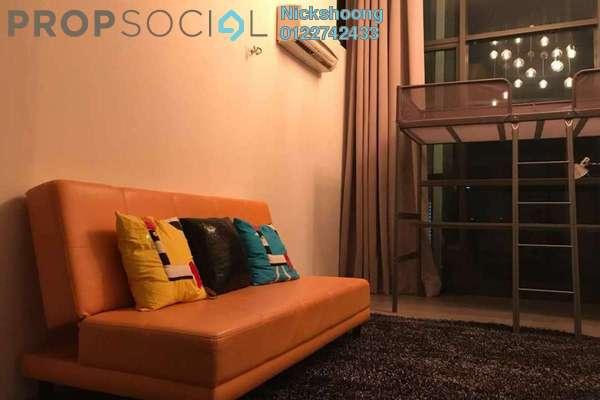 For Sale SoHo/Studio at Empire Damansara, Damansara Perdana Freehold Fully Furnished 1R/1B 530k