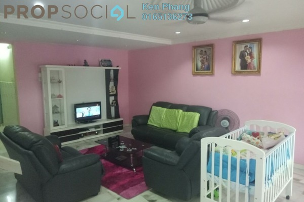 For Sale Terrace at Section 5, Bandar Mahkota Cheras Freehold Semi Furnished 4R/3B 600k