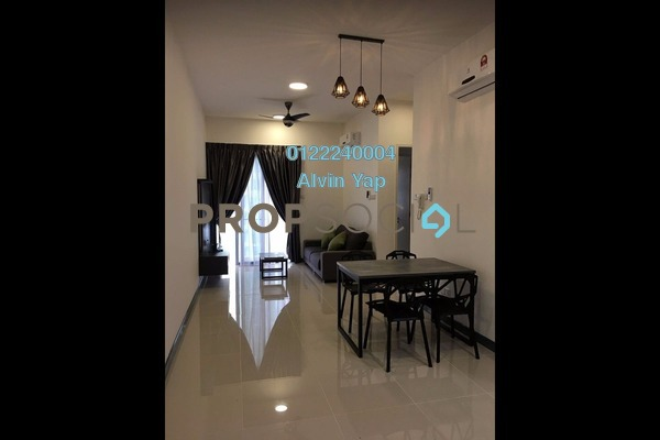For Rent Serviced Residence at South View, Bangsar South Freehold Fully Furnished 2R/2B 2.5k