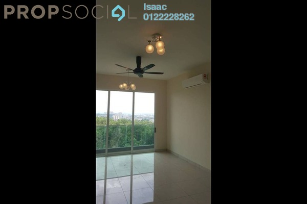 For Rent Condominium at Green Residence, Cheras South Freehold Semi Furnished 3R/2B 1.7k
