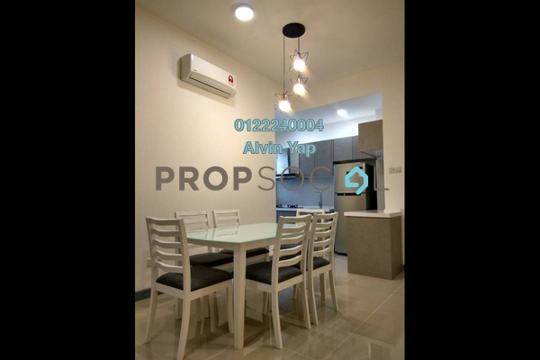 For Rent Serviced Residence at South View, Bangsar South Freehold Fully Furnished 3R/2B 3.6k