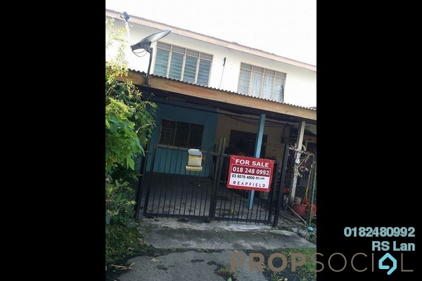 For Sale Terrace at Pandan Indah, Pandan Indah Leasehold Unfurnished 2R/1B 350k
