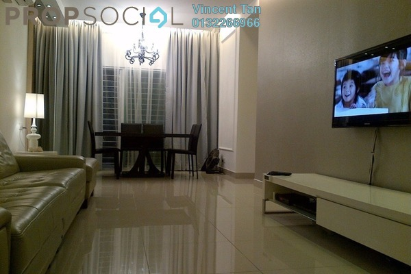 For Sale Condominium at Laman Suria, Mont Kiara Freehold Semi Furnished 2R/2B 620k