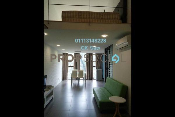 For Rent Condominium at Empire Damansara, Damansara Perdana Freehold Fully Furnished 1R/1B 1.4k