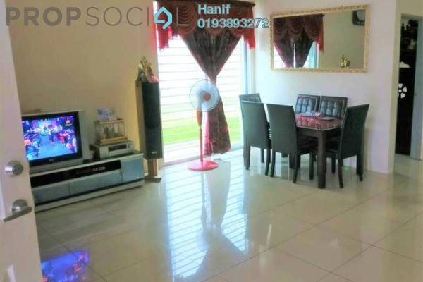 For Sale Semi-Detached at Royal Ivory, Bandar Saujana Putra Freehold Unfurnished 4R/3B 560k