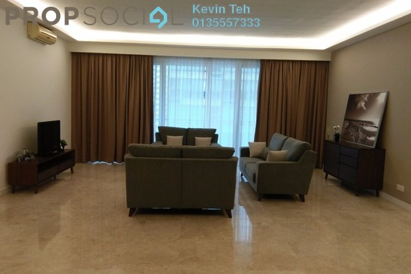 For Rent Condominium at Marc Service Residence, KLCC Freehold Fully Furnished 4R/4B 15k
