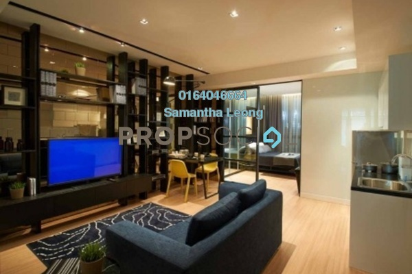 For Sale Serviced Residence at The Potpourri, Ara Damansara Freehold Semi Furnished 1R/1B 378k