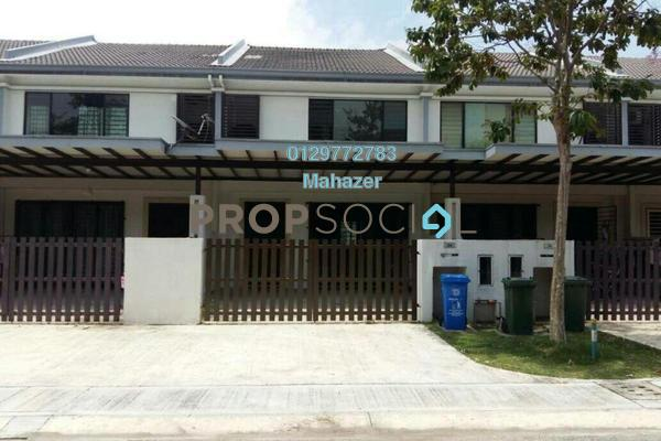 For Sale Terrace at Ken Rimba, Shah Alam Freehold Semi Furnished 4R/4B 630k
