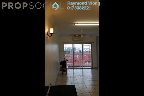 For Rent Apartment at Cahaya Permai, Bandar Putra Permai Freehold Semi Furnished 3R/2B 1k