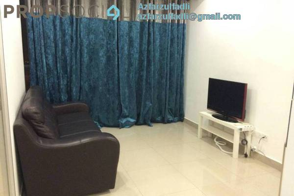 For Sale Apartment at Menara U2, Shah Alam Freehold Unfurnished 2R/1B 350k
