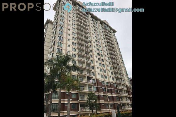 For Sale Condominium at De Centrum Unipark Condominium, Kajang Freehold Semi Furnished 3R/2B 360k