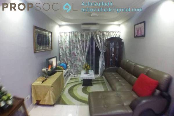 For Sale Apartment at Melur Apartment, Sentul Freehold Fully Furnished 3R/2B 400k