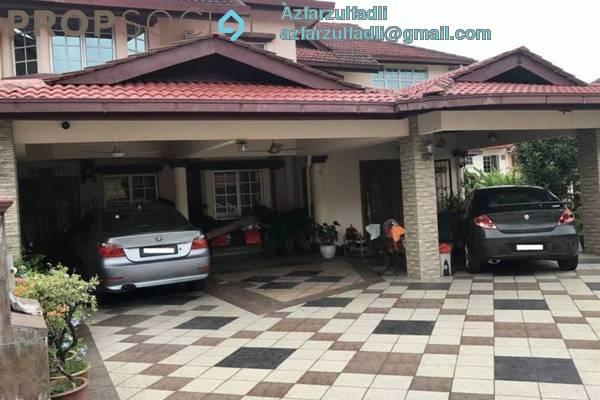 For Sale Terrace at Taman Cheras Indah, Cheras Freehold Semi Furnished 8R/4B 1.6m
