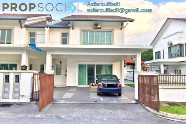 For Sale Terrace at Prima Saujana, Kajang Freehold Semi Furnished 4R/3B 598k