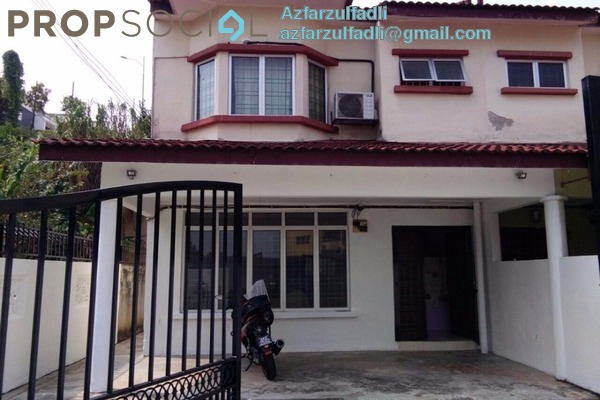 For Sale Terrace at Taman Bukit Ria, Kajang Freehold Semi Furnished 5R/3B 490k