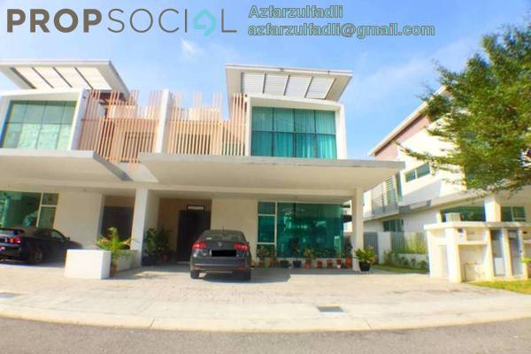 For Sale Semi-Detached at Garden Residence, Cyberjaya Freehold Unfurnished 5R/5B 1.25m