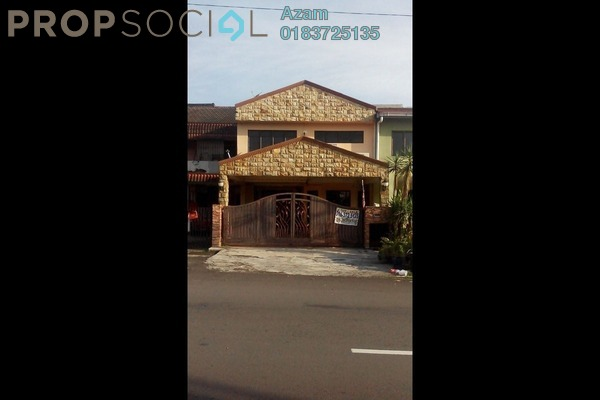 For Sale Terrace at Lembah Keramat, Wangsa Maju Leasehold Semi Furnished 6R/3B 800k