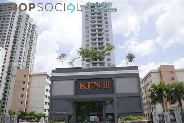 For Sale Condominium at Ken Damansara III, Petaling Jaya Freehold Semi Furnished 3R/2B 790k