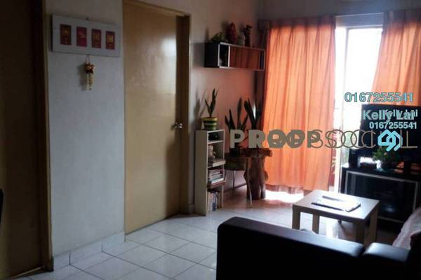 For Sale Condominium at Plaza Sinar, Segambut Freehold Semi Furnished 2R/1B 315k