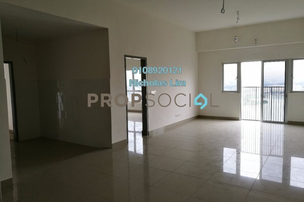 For Sale Condominium at The Wharf, Puchong Freehold Unfurnished 3R/2B 520k