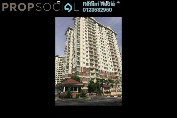 For Sale Condominium at De Centrum Unipark Condominium, Kajang Freehold Semi Furnished 4R/2B 450k
