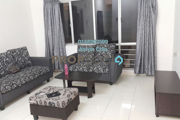 For Rent Serviced Residence at I Residence, Kota Damansara Freehold Semi Furnished 3R/2B 2k