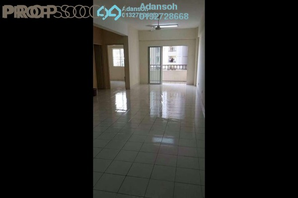 For Rent Apartment at Vista Mutiara, Kepong Freehold Semi Furnished 3R/2B 1.3k