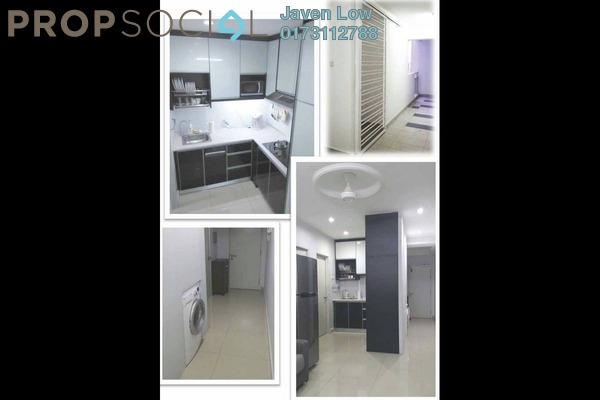 For Sale Condominium at Menara U, Shah Alam Freehold Fully Furnished 2R/1B 368k