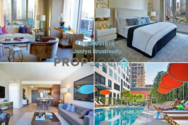 For Sale Condominium at Sunway Serene, Kelana Jaya Freehold Semi Furnished 3R/2B 580k