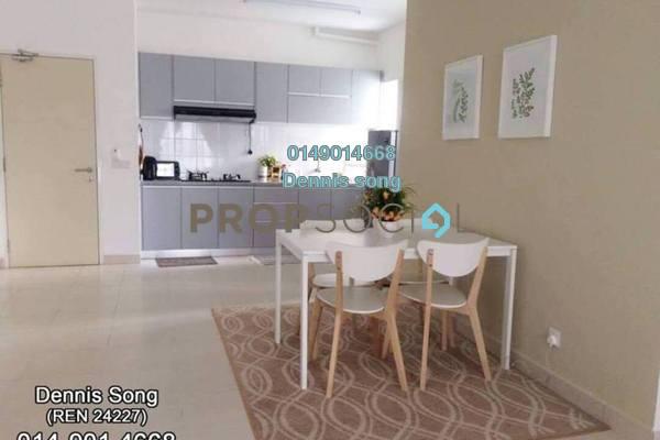 For Sale Apartment at Seri Baiduri, Setia Alam Freehold Semi Furnished 3R/2B 330k