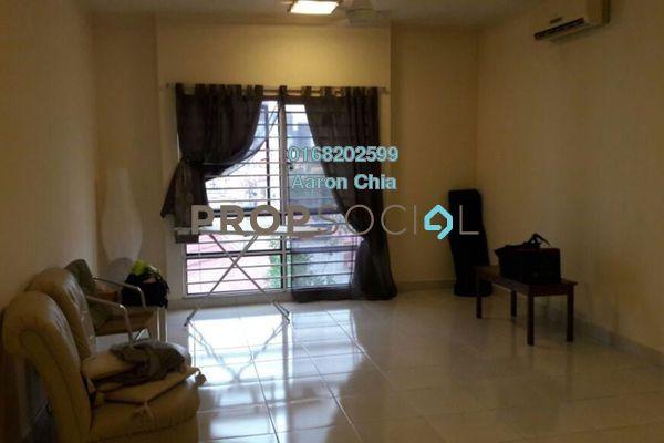 For Rent Apartment at Pelangi Damansara Sentral, Mutiara Damansara Freehold Semi Furnished 1R/1B 1.3k