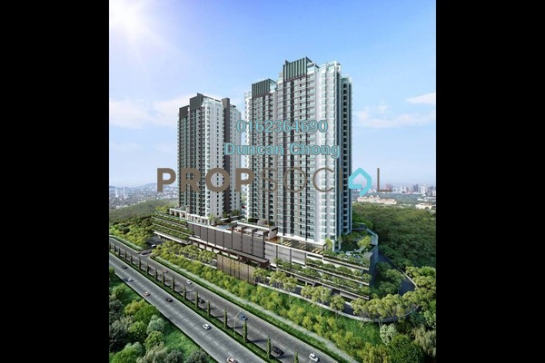 For Sale Condominium at Kaleidoscope, Setiawangsa Freehold Semi Furnished 3R/2B 720k
