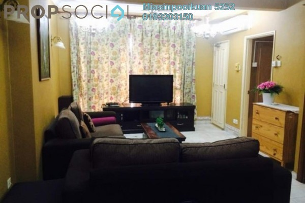 For Rent Condominium at Vista Damai, KLCC Freehold Fully Furnished 2R/2B 2.4k
