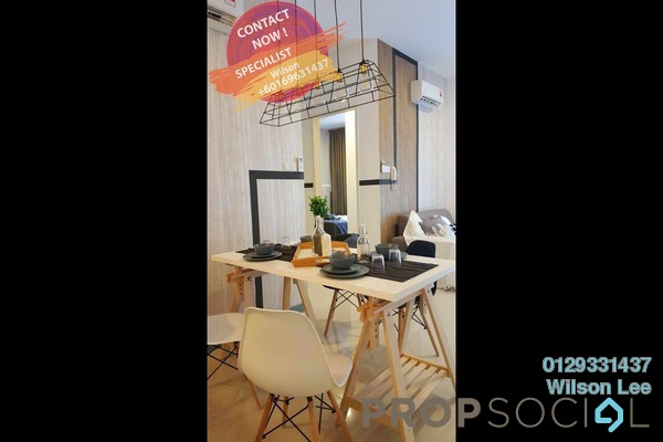 For Rent Condominium at South View, Bangsar South Freehold Fully Furnished 2R/2B 2.5k